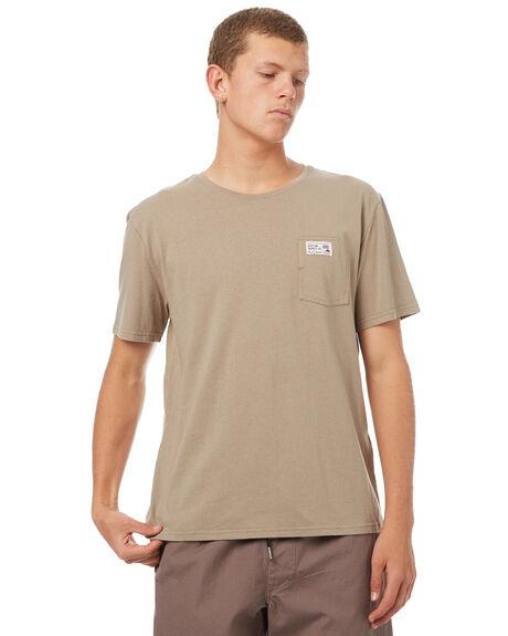 DUSTY OLIVE MENS CLOTHING RHYTHM TEES - OCT17M-CT08-OLI