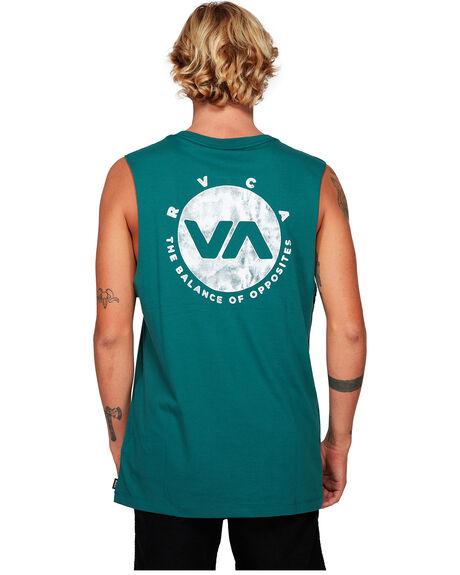 ALPINE MENS CLOTHING RVCA SINGLETS - RV-R192005-ALP