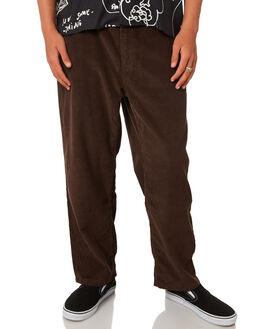 BROWN MENS CLOTHING POLAR SKATE CO. PANTS - PSC-93CORD-BRN