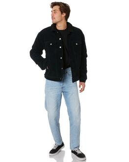 BLACK CORD MENS CLOTHING DR DENIM JACKETS - 1931101102BLKCD