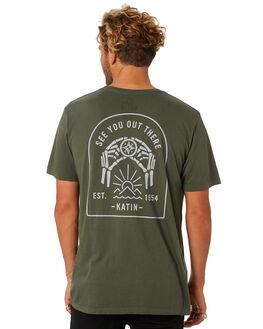OLIVE MENS CLOTHING KATIN TEES - TSDIR02OLIVE