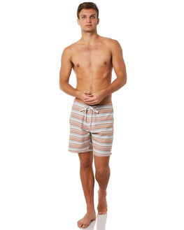 TERRACOTTA MENS CLOTHING RHYTHM BOARDSHORTS - JUL18M-TR07TER