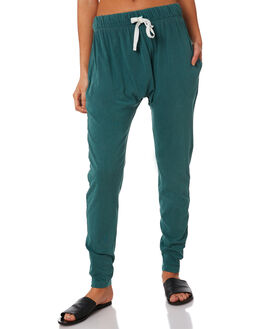 LIGHT GREEN WOMENS CLOTHING SILENT THEORY PANTS - 6090036-LGRN