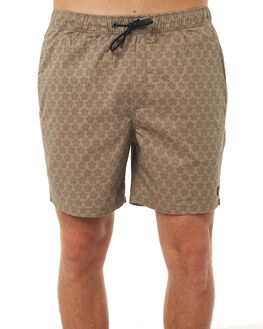 BEIGE MENS CLOTHING ZANEROBE BOARDSHORTS - 601-TDKIBEI