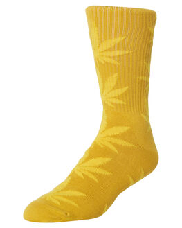 HONEY MUSTARD MENS CLOTHING HUF SOCKS + UNDERWEAR - SK00298-HONMU