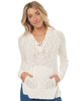 MARSHMELLOW WOMENS CLOTHING ROXY JUMPERS - ERJSW03210WBT0