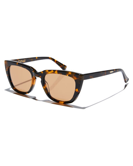 TORT POLISHED BROWN MENS ACCESSORIES EPOKHE SUNGLASSES - 0858-DKTOPORBRN