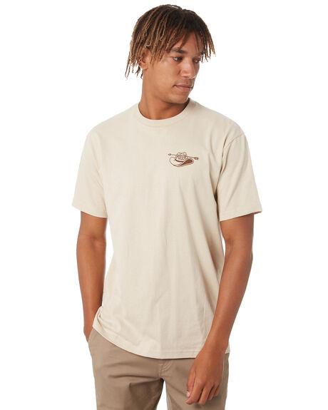CREAM MENS CLOTHING POLER TEES - 213APM2012-CREAM