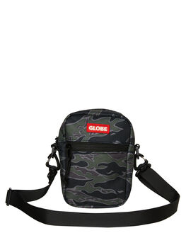 TIGER CAMO MENS ACCESSORIES GLOBE BAGS + BACKPACKS - GB71939012TCAM