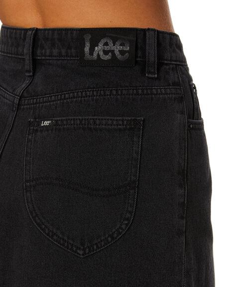 WORN BLACK WOMENS CLOTHING LEE SKIRTS - L-656992-082