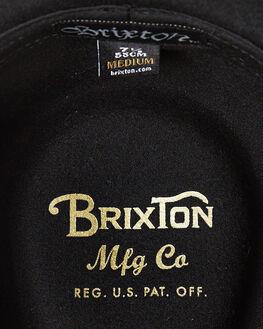 BLACK BLACK MENS ACCESSORIES BRIXTON HEADWEAR - 413-00136-0135BKBK