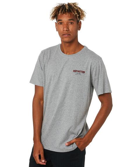 GREY MARLE MENS CLOTHING DEPACTUS TEES - D5203003GRYMA