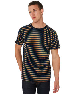 NAVY MENS CLOTHING DEPACTUS TEES - D5182008NAVY