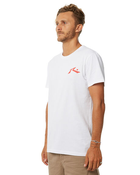 WHITE MENS CLOTHING RUSTY TEES - TTM2049WHT