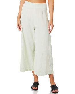 CITRUS WHITE WOMENS CLOTHING MINKPINK PANTS - MP1904440CTWT
