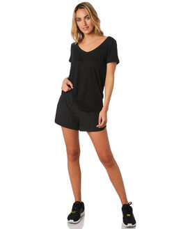 BLACK WOMENS CLOTHING LORNA JANE ACTIVEWEAR - W081943BLK