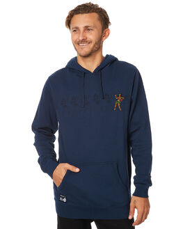 OIL NAVY MENS CLOTHING RVCA JUMPERS - R174154ONVY