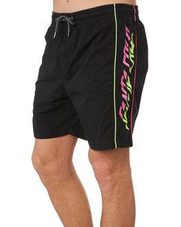 BLACK MENS CLOTHING SANTA CRUZ SHORTS - SC-MBD9395BLK
