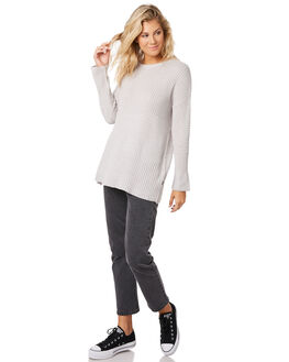 GREY WOMENS CLOTHING SILENT THEORY KNITS + CARDIGANS - 6010042GRYMA