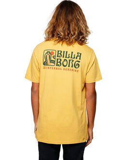 GOLD MENS CLOTHING BILLABONG TEES - BB-9592035-GOL