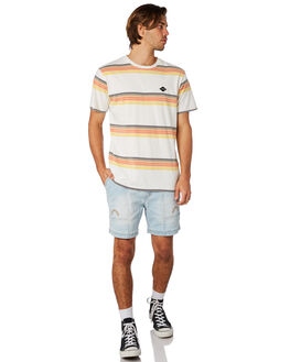 BLUE HAZE MENS CLOTHING THE CRITICAL SLIDE SOCIETY TEES - TE18111BLHZE