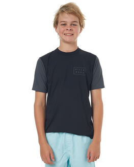 BLACK SURF RASHVESTS BILLABONG BOYS - 8772021BLK