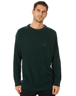 BOTTLE GREEN MENS CLOTHING RPM KNITS + CARDIGANS - 20WM13A2BTLGN