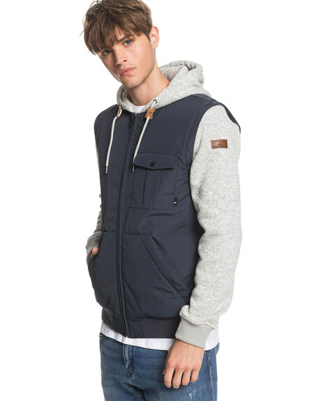 BLUE NIGHTS MENS CLOTHING QUIKSILVER JACKETS - EQYJK03540-BST0