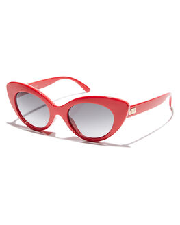 GLOSS CHERRY RED UNISEX ADULTS CRAP SUNGLASSES - 163X11GFGLCHR