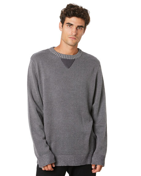 GREY STONE MENS CLOTHING DEPACTUS KNITS + CARDIGANS - D5194146GRYST