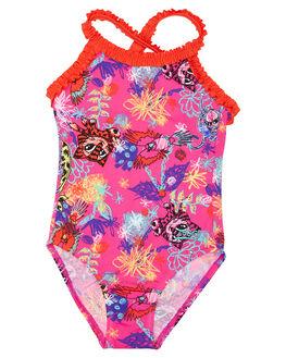 PINK MULTI KIDS TODDLER GIRLS ZOGGS SWIMWEAR - 5075172PKMLT