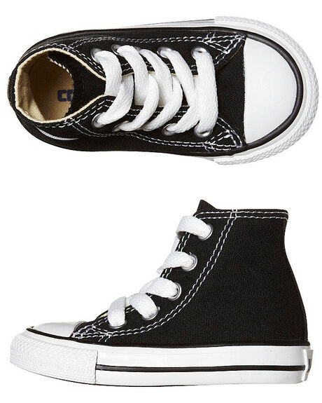 BLACK KIDS TODDLER BOYS CONVERSE FOOTWEAR - 7J231BLK