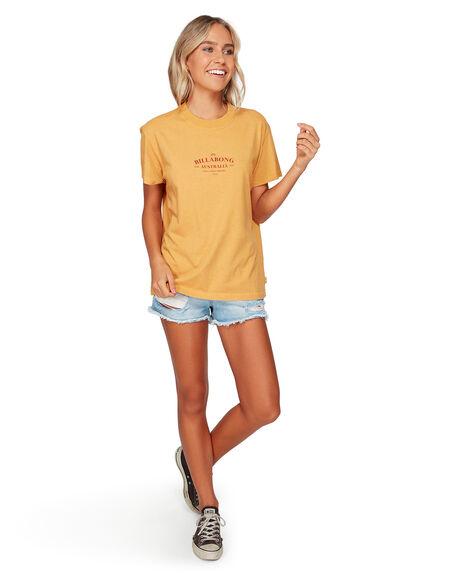 AMBER WOMENS CLOTHING BILLABONG TEES - BB-6592003-A31
