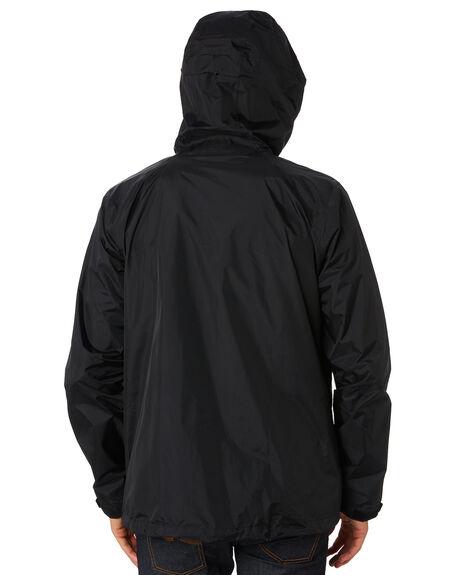 BLACK MENS CLOTHING PATAGONIA JACKETS - 83802BLK