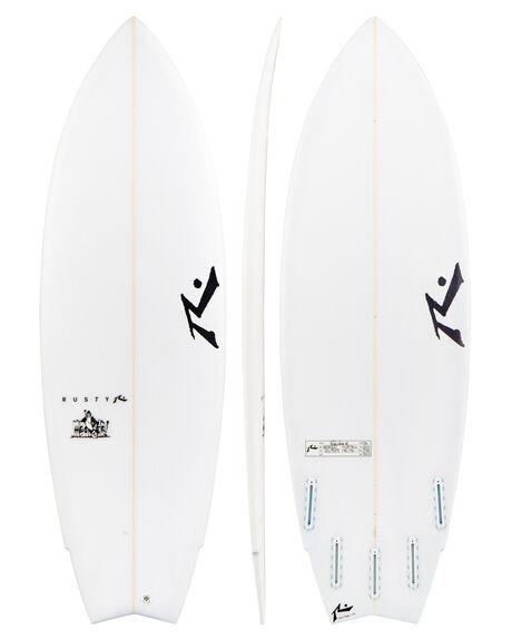 CLEAR BOARDSPORTS SURF RUSTY SURFBOARDS - HECKCLR