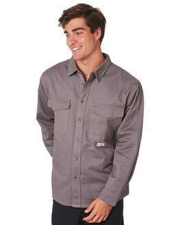 SLATE GREY MENS CLOTHING LOWER SHIRTS - LO19Q2MSHI01SLGRY