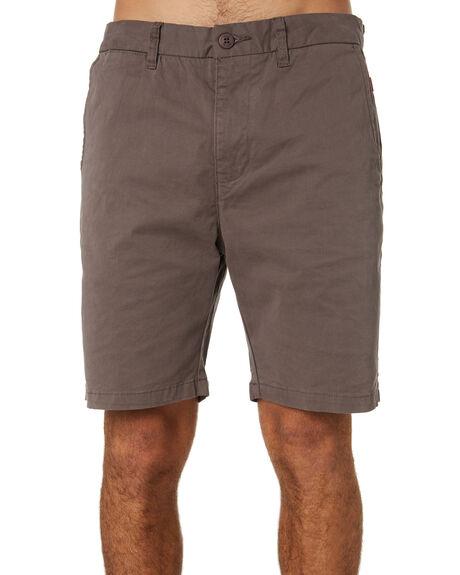 GREY MENS CLOTHING GLOBE SHORTS - GB01216001GRY
