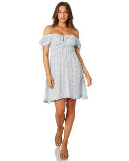 SKY BLOSSOM WOMENS CLOTHING SAINT HELENA DRESSES - SHSP19405ASKY