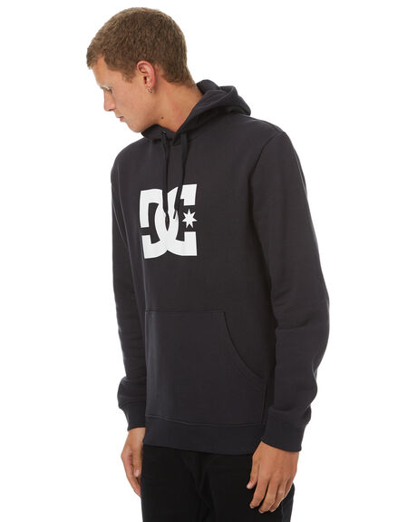BLACK MENS CLOTHING DC SHOES JUMPERS - EDYSF03107KVJ0