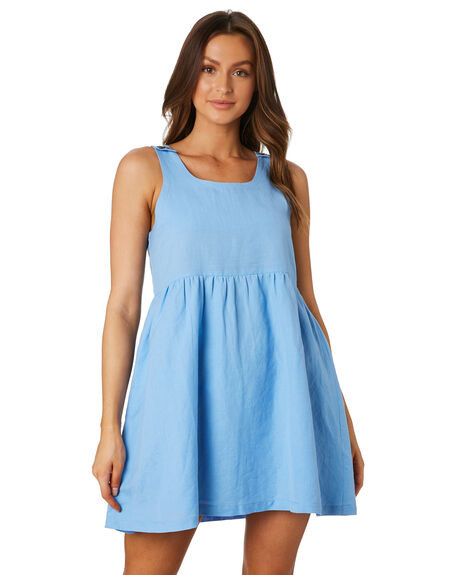 BLUE WOMENS CLOTHING SWELL DRESSES - S8202441BLU