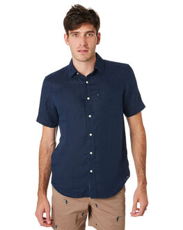 NAVY MENS CLOTHING ACADEMY BRAND SHIRTS - BA880NVY