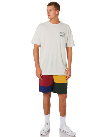 OFF WHITE MENS CLOTHING STUSSY TEES - ST091005OFWHT