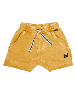 PIGMENT MUSTARD KIDS TODDLER BOYS MUNSTER KIDS SHORTS - MK182TR08SPIGM