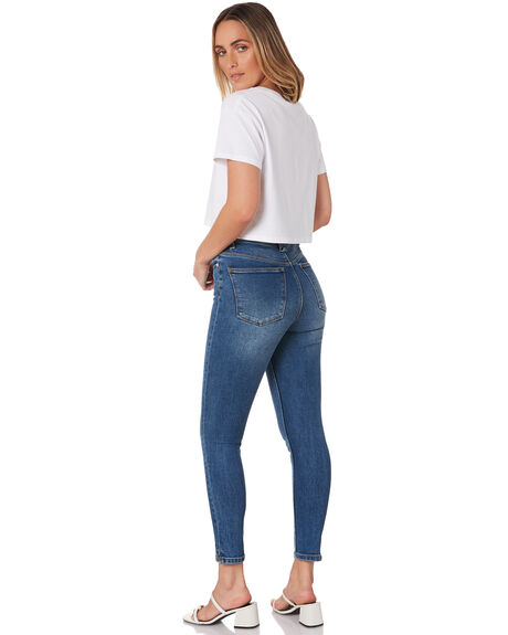 BLUE VINTAGE WOMENS CLOTHING RES DENIM JEANS - RW0941BLU