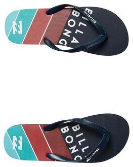 NAVY MENS FOOTWEAR BILLABONG THONGS - 9672930NVY
