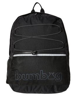 BLACK MENS ACCESSORIES THE BUMBAG CO BAGS + BACKPACKS - BP041BLK
