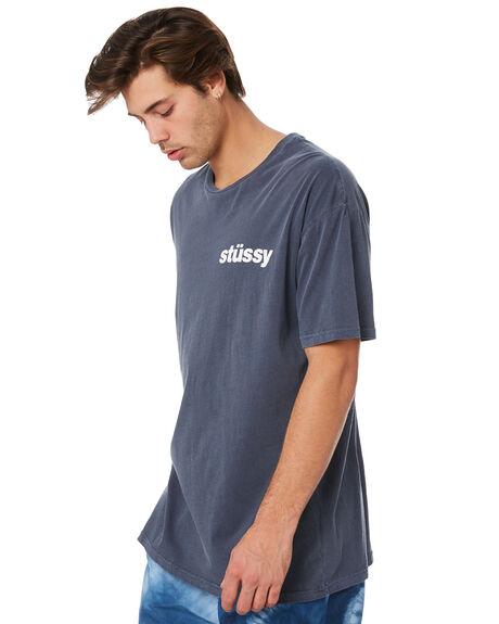 BLUE NIGHTS MENS CLOTHING STUSSY TEES - ST092000BLN