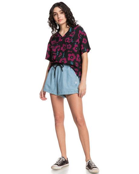 ROUGH DIMOND NEW ART WOMENS CLOTHING QUIKSILVER FASHION TOPS - EQWWT03072-KVJ6