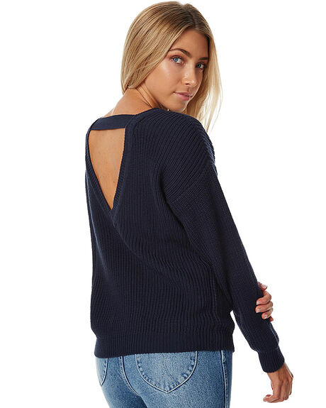 NAVY WOMENS CLOTHING SWELL KNITS + CARDIGANS - S8161148NVY