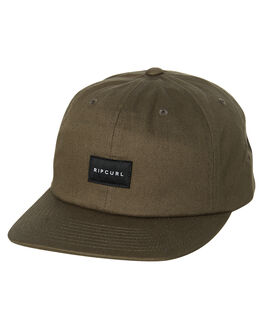 DARK OLIVE MENS ACCESSORIES RIP CURL HEADWEAR - CCAPT19389